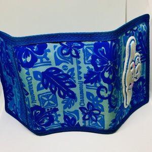 Sanrio Bags - Sanrio Cinnamoroll Blue Tropical Print Wallet